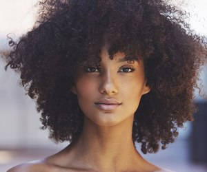 natural hair, afro hair, and curly fro image