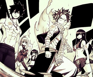 fairy tail, Lucy, and erza image