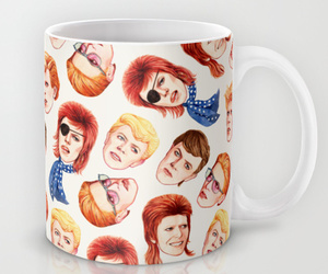 bowie, coffee, and coffee cup image