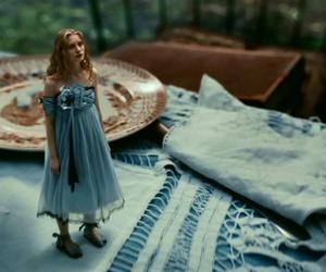 alice in wonderland, alice, and Mia Wasikowska image