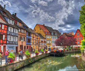 color, france, and Houses image