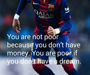 Barcelona, neymar, and soccer quotes image