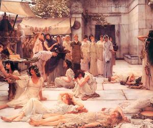 painting, sir lawrence alma-tadema, and art image