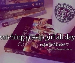 gossip girl and watching image