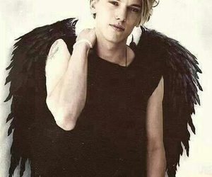 angel, Jamie Campbell Bower, and jace image