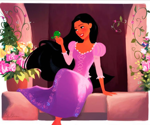 disney, pocahontas, and tangled image