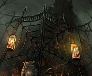 Halloween and owl image