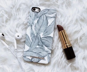 iphone, lipstick, and case image