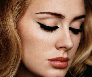 Adele, singer, and makeup image