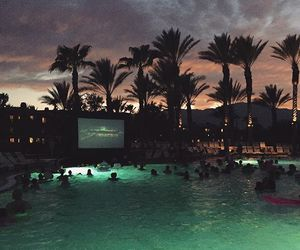 pool, summer, and tumblr image