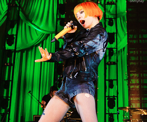 celebrity, hayley williams, and paramore image
