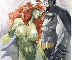 batman and poison ivy image