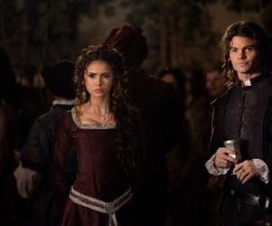 the vampire diaries, Nina Dobrev, and elijah image