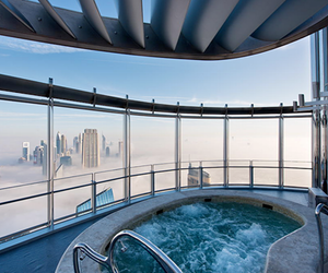 Dubai, pool, and luxury image