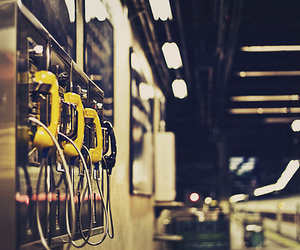 public and telephones image