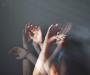 grunge and hands image