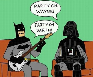 funny and batman image
