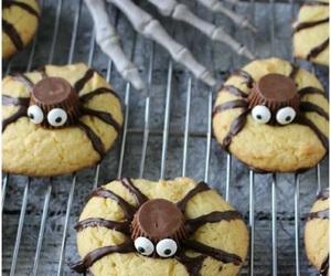 Cookies, Halloween, and spider image