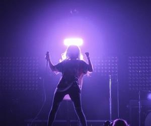 halsey, purple, and grunge image