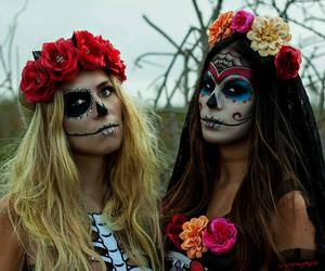 woman, holloween, and cute image