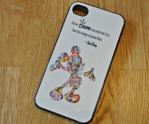 disney, iphone, and phone case image