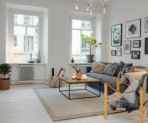 home, living room, and house image