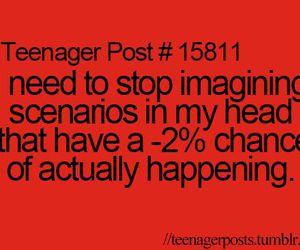 teenager post, scenario, and imagine image
