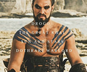 game of thrones and khal drogo image