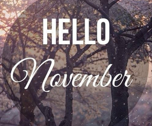 november, hello, and hello november image