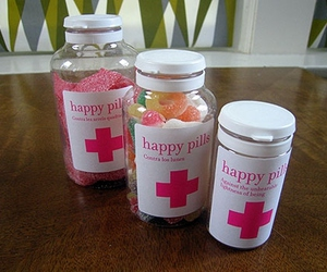 candy, happy, and pills image