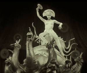 black and white, fritz lang, and metropolis image