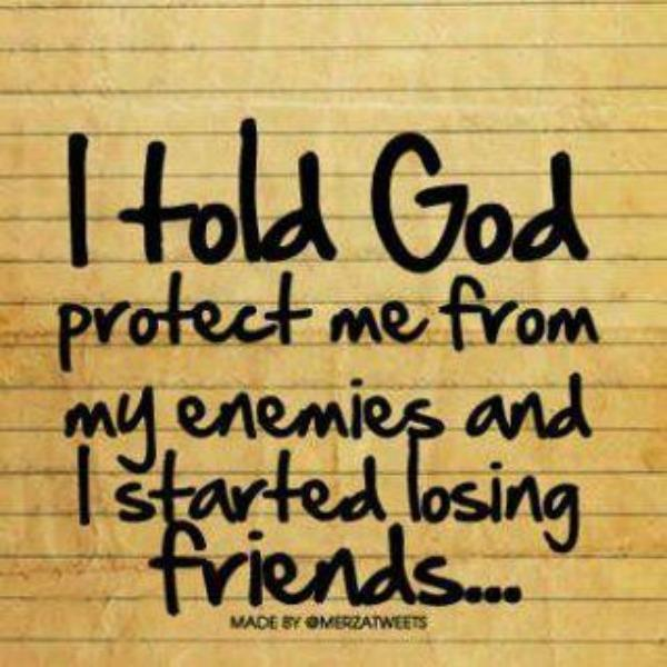 Enemies Friend God Quote Truth Inspiring Picture On Favimcom
