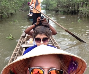 asia, canoe, and culture image