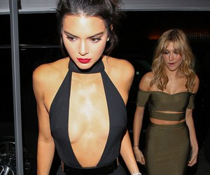 kendall jenner, Kendall, and hailey baldwin image