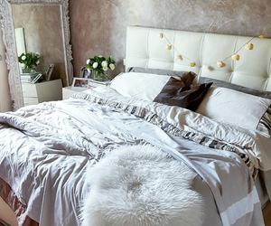 bedroom, fashion, and decor image