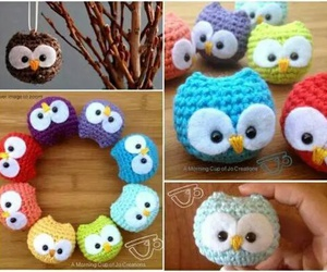 owl, diy, and cute image