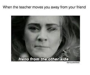 hello, Adele, and funny image