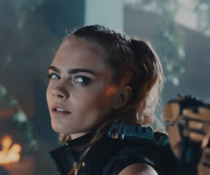 model, cara delevingne, and call of duty image