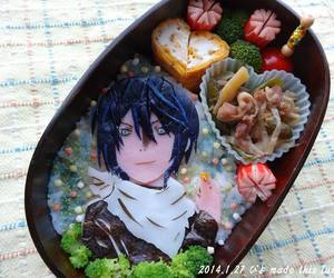 noragami, anime, and food image