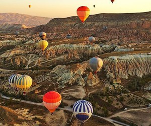 freedom, happiness, and hot air balloon image