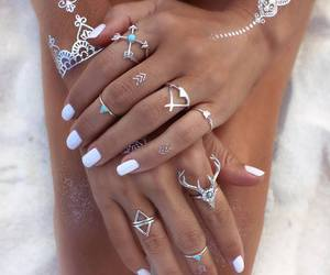 accessories, blue, and diamonds image
