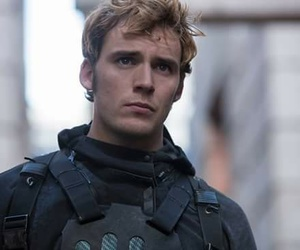 mockingjay, the hunger games, and sam claflin image