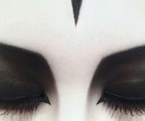 dark and makeup image