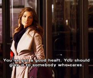 gossip girl, quote, and care image