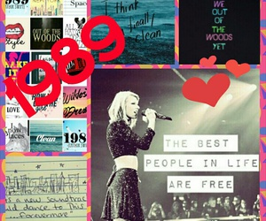 1989, Collage, and Taylor Swift image