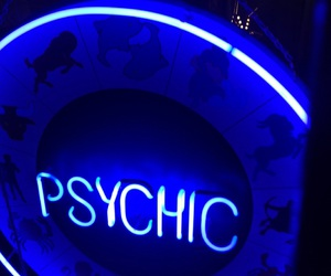 blue, psychic, and alternative image