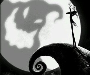 jack, Halloween, and black and white image