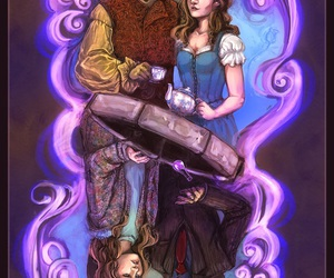 belle, once upon a time, and dark one image