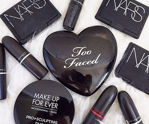 makeup, nars, and too faced image