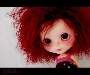 blythe, custom, and dolls image
